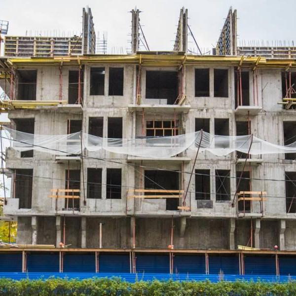 Новостройка ЖК Коломяги Эко строительная готовность